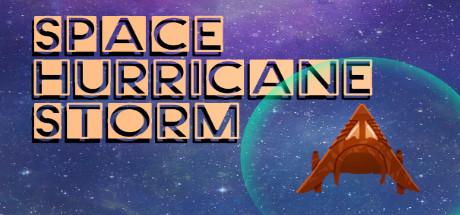 Space Hurricane Storm Logo