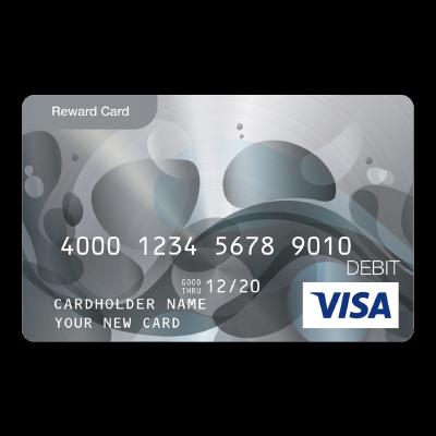 Visa® Prepaid Card 100 USD Logo