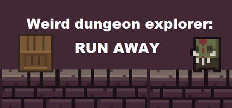 Weird Dungeon Explorer: Run Away Logo