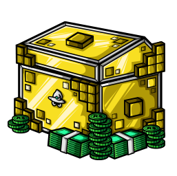 Golden Robux Chest avatar