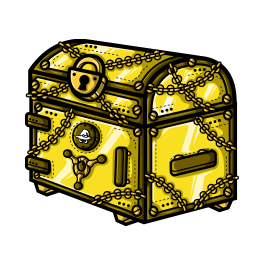 Golden Gift Card Chest