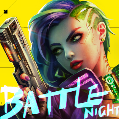 logo Battle Night: Cyberpunk-Idle RPG