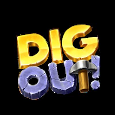 logo Dig Out! - Gold Digger Adventure