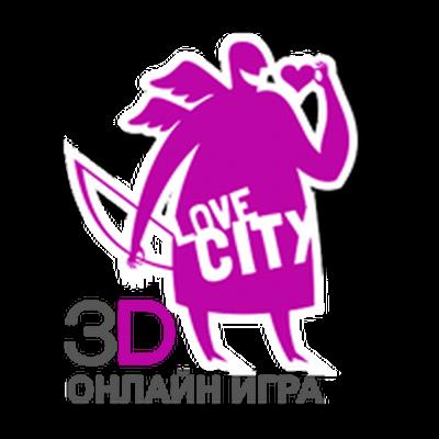 logo Love City 3D