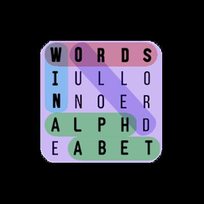 logo Words in Alphabet