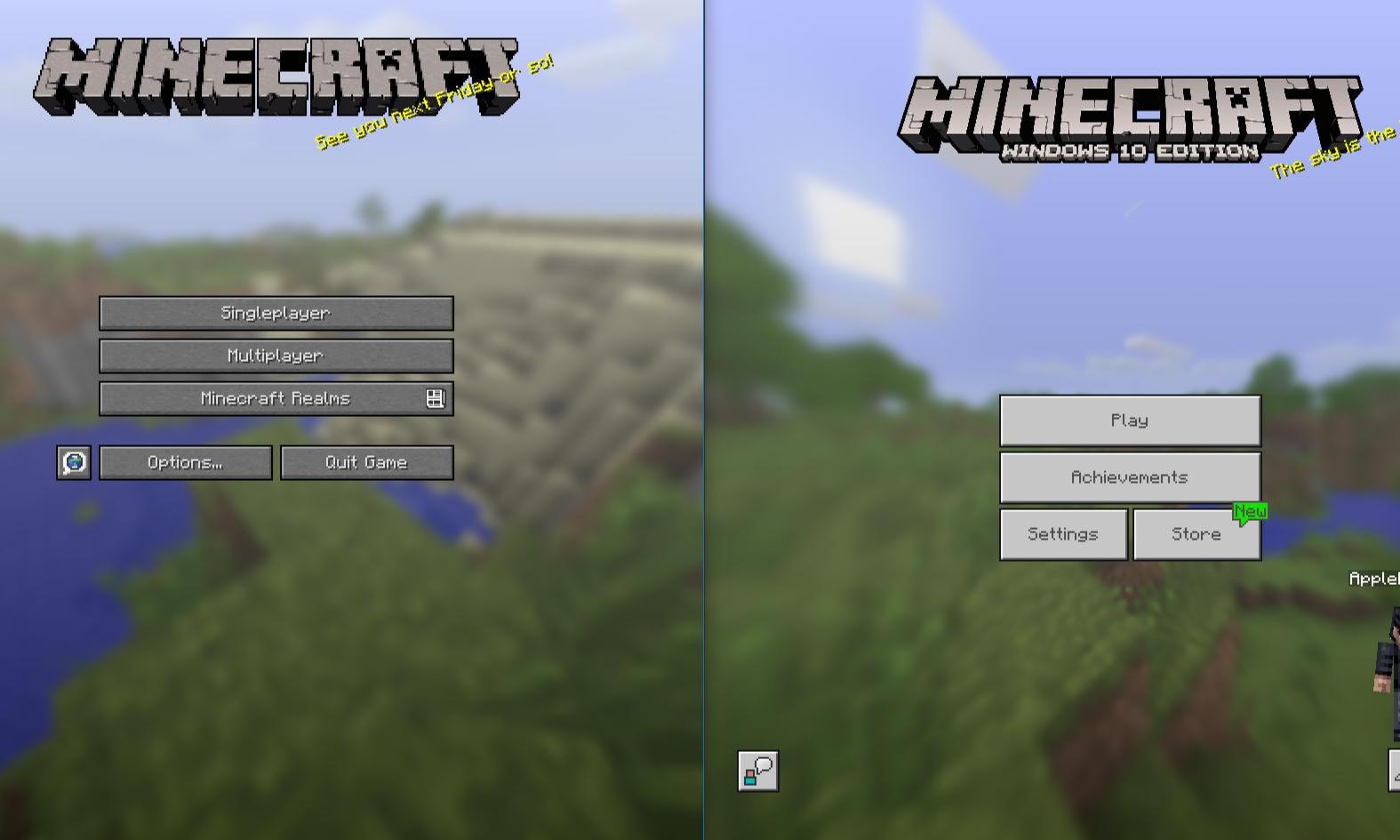Minecraft Java Edition vs Minecraft Win 8  Gamehag