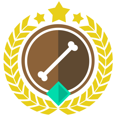 assnumberone badge