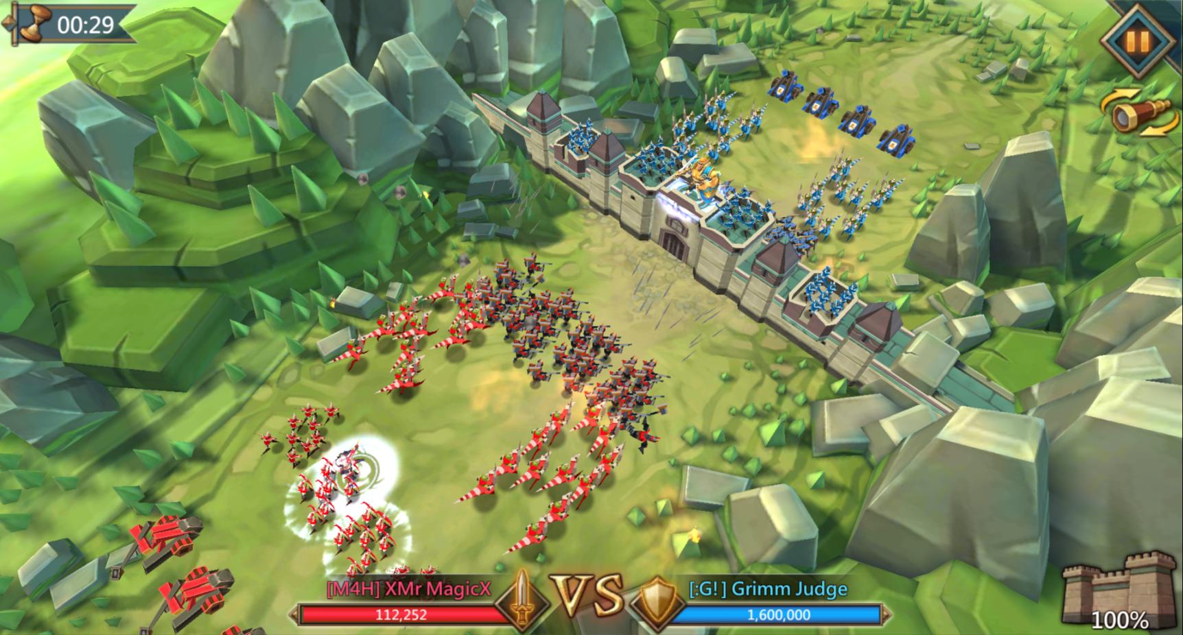 Сражение за стену