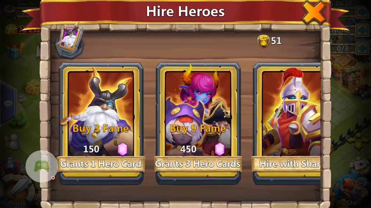 Castle Clash Brave Squads Gamehag
