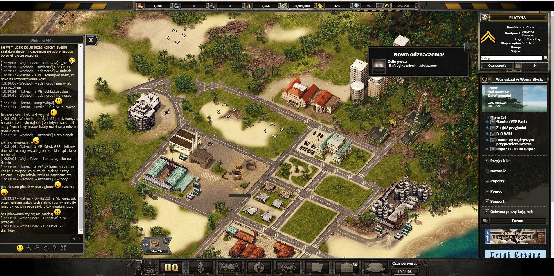 Desert Operations Game
