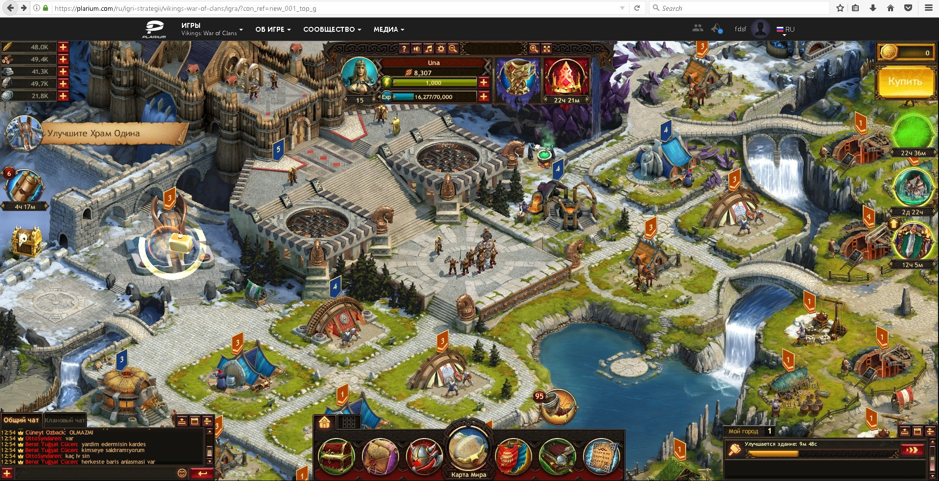 Vikings War of Clans online