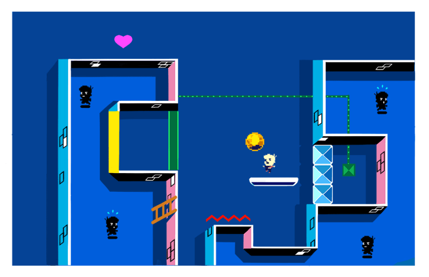 A Juggling fast paced Indie Puzzle Game - HackyZack [Steam