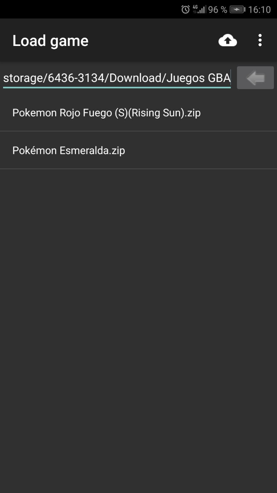 como poner trucos en pokemon rojo fuego para android